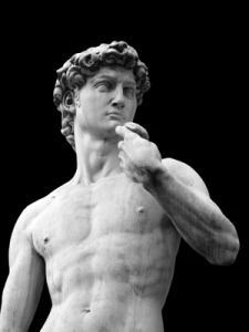 king-david-bust