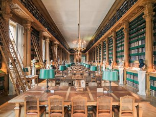 library-mazarine-paris-france